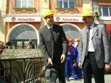 Groundbreaking ceremony at the Ancient Stadium / Regional Administration - Plovdiv