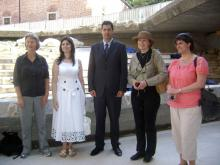 The partners from Norway with Mr. Totev and Mrs. Emilia Petrova-Angelova / Regional Administration - Plovdiv