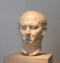Bust of Vespasian, National Museum of Rome, Rome / V. Pandjarova